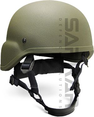 Sarkar Defence Advanced Combat Helmet is a lighter and more compact version of the PASGT Helmet. The new Sarkar Defence Advanced Combat Helmet is based upon the US Army's MITCH (Modular Integrated Tactical Comunications Helmet) & ACH (Advanced Combat Helmet).