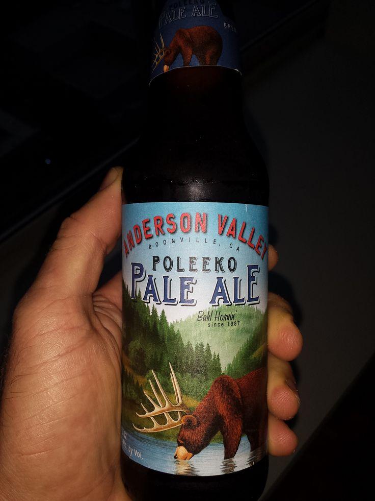 Anderson Valley Poleeko Pale Ale (Boonville, California, USA)