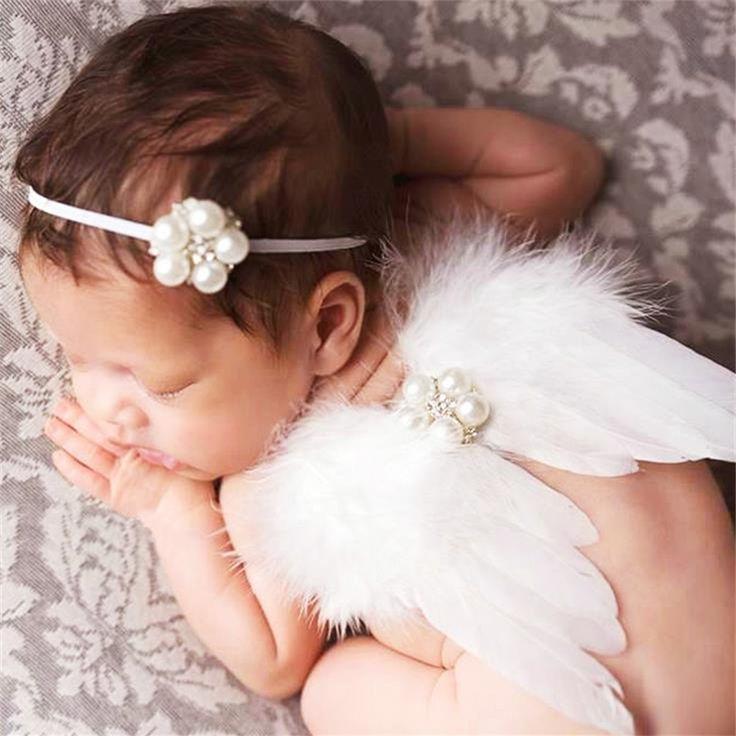 $4.49 (Buy here: https://alitems.com/g/1e8d114494ebda23ff8b16525dc3e8/?i=5&ulp=https%3A%2F%2Fwww.aliexpress.com%2Fitem%2FAngel-Feather-Wings-Baby-Girl-pearl-Headband-Hair-Head-Bands-Photo-Shoot-Accessories-for-Newborns-Hairband%2F32684814411.html ) Angel Feather Wings Baby Girl pearl Headband Hair Head Bands Photo Shoot Accessories for Newborns Hairband Photography Props for just $4.49
