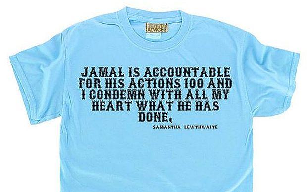 UVERSE NEWS: Samantha Lewthwaite t-shirts go on sale on Amazon....