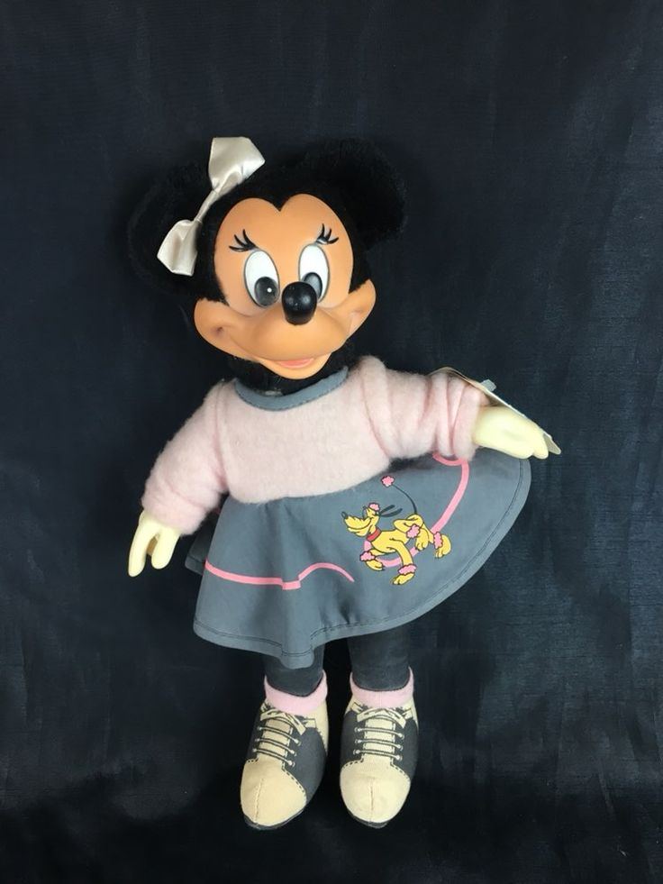 Applause Toys For Walt Disney Company Minnie Mouse