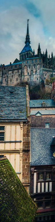 Trey Ratcliff | the Old City - France - mont-saint-michel