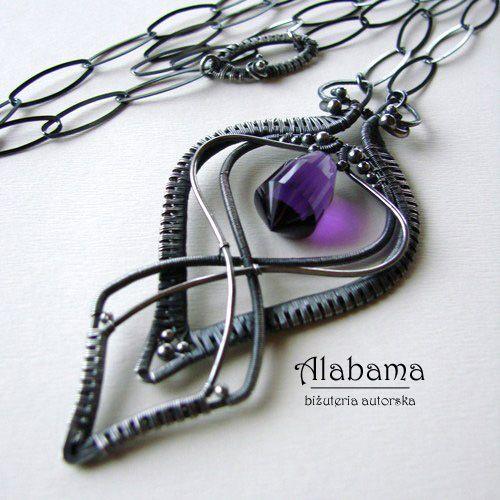 ALABAMA - Ametystowe art deco