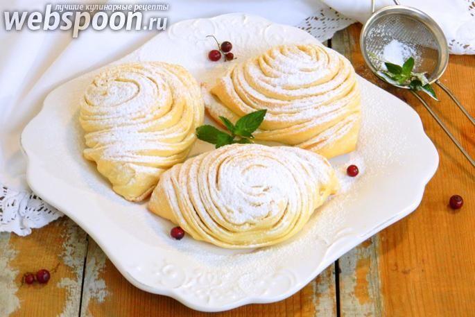Бадамбура - дрожжевое тесто с ореховой начинкой --Азербайджанская кухня