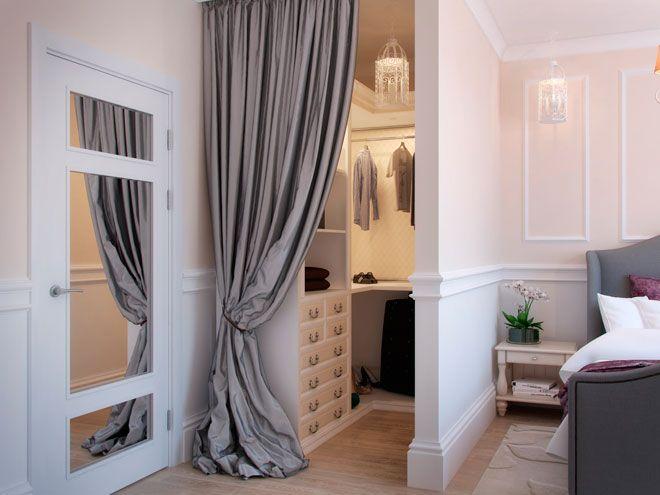 Интерьер спальни - Интерьер двухкомнатной квартире в французском стиле в ЖК «Балтийская Жемчужина»