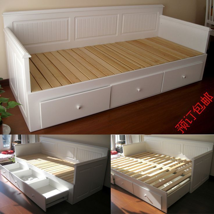 Folding Bed Frame Ikea Adorable Folding Bed Frame From Ikea With