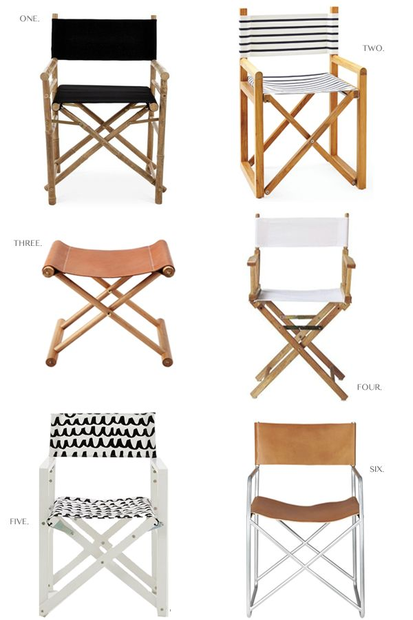 Look I M Loving The Director S Chair On Pinterest
