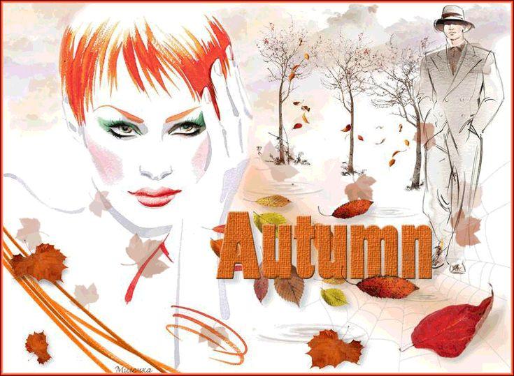 ANIMATION Με Φθινόπωρο κορίτσι - Τα κορίτσια, αγόρια, παιδιά - Μεγάλη animation και φωτεινές φωτογραφίες - Εικόνες - Glamik.Ru