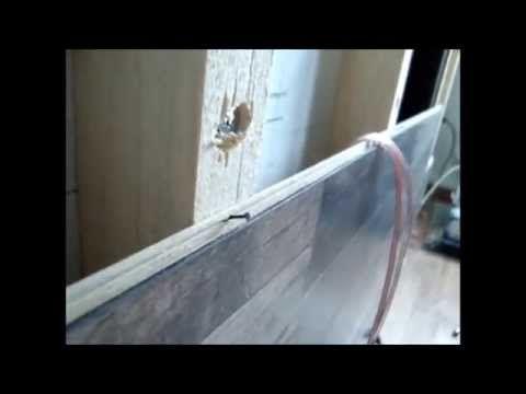 TV Wand selber bauen, ganz einfach - YouTube