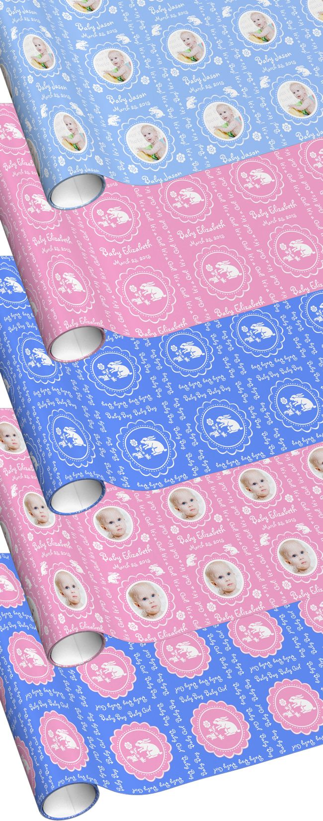 Baby Shower Gift Wrap Ideas!