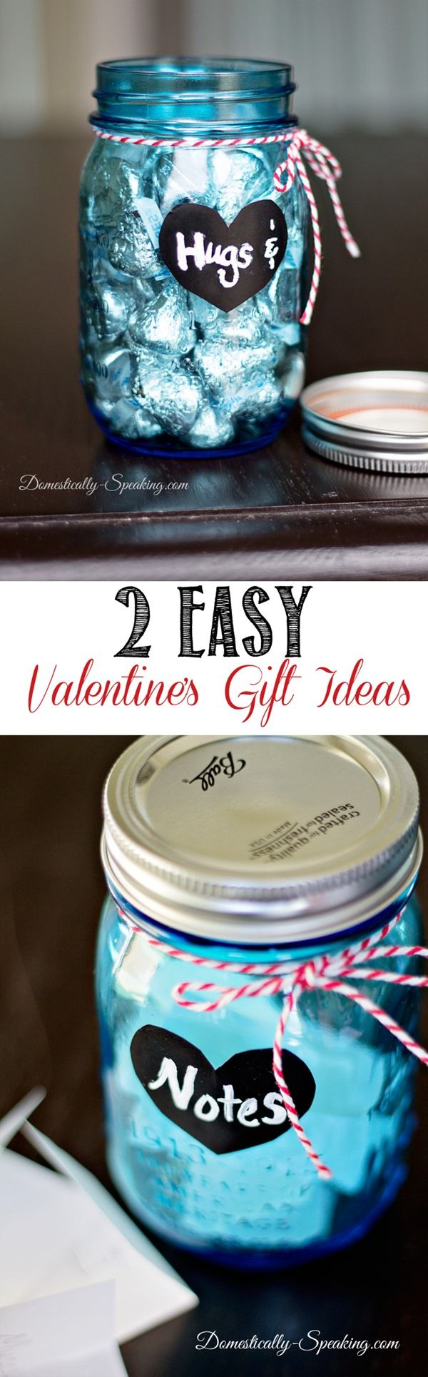 2 Easy Mason Jar Valentine's Gift Ideas