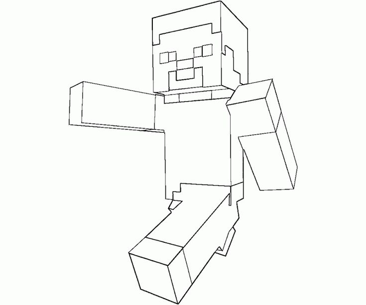 33 Best Minecraft Coloring Images On Pinterest