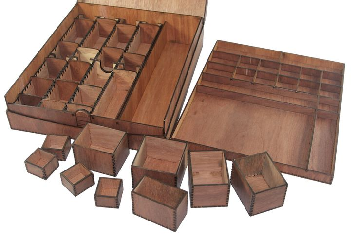 Basically Wooden | Carcassonne Boxes