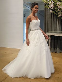 Judd Waddell Wedding Gown  This is like the gorgeous gown the heroine wears in your favorite romantic comedy