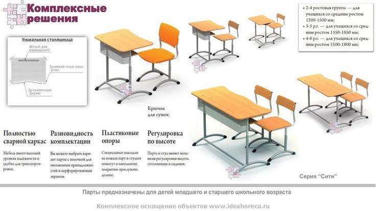 """Школьные парты универсальные """"Сити"""", фото 1"""