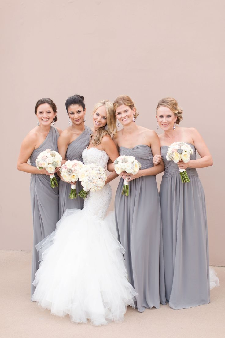 234 best aj bridesmaids images on pinterest floral bouquets stunning four seasons scottsdale wedding with a pallet of soft grey white and blush ombrellifo Gallery