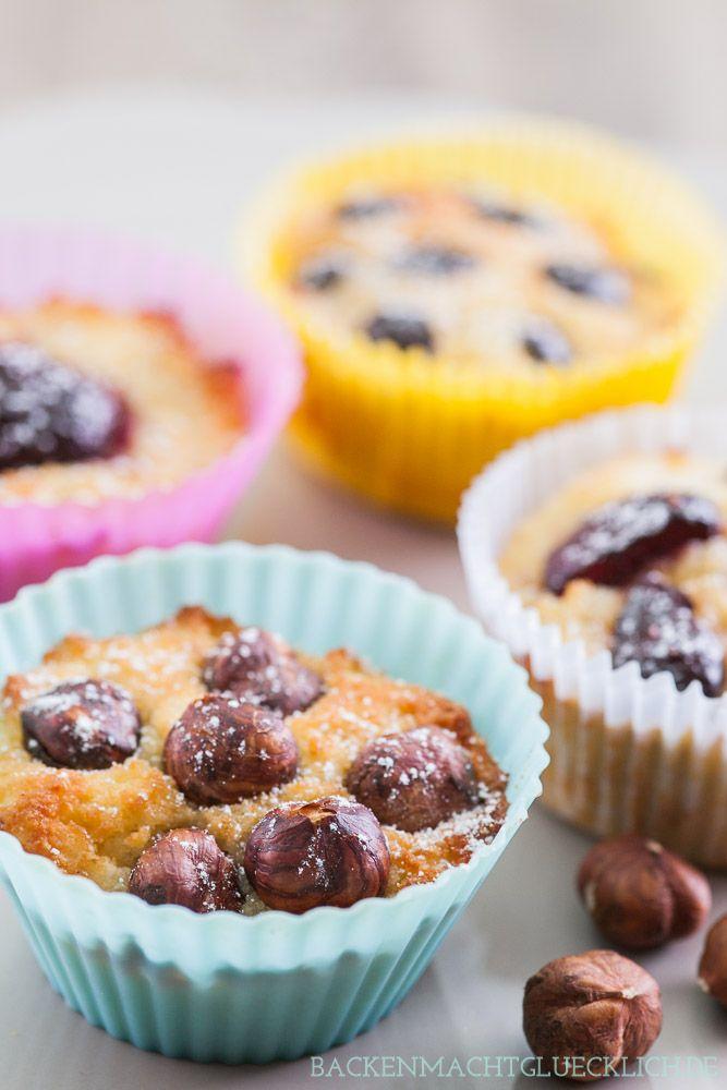 Backen macht glücklich | Low Carb Muffins: zuckerfrei, glutenfrei und soo lecker | http://www.backenmachtgluecklich.de