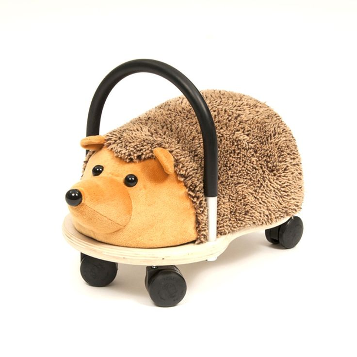 Younger kids will love riding along on this Hedgehog Wheely Bug. This is great for both indoors and out.