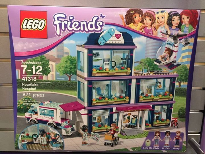 Friends Bricks is a community of LEGO fans who build with bricks from LEGO Friends sets, My Own Creations & modular structures.