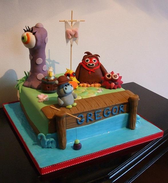Birthday Table Acnl: 14 Best Moshi Monster Cake Ideas Images On Pinterest