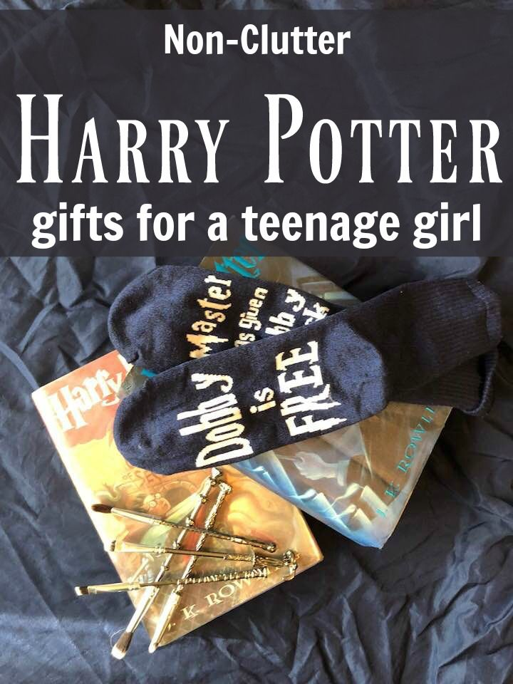 Clutter free harry potter gifts for a teenage girl harry