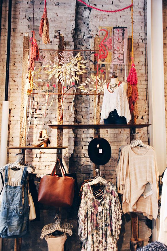 since our closet is tiny, an installation like this is an option. also feels like shopping your own shiz.