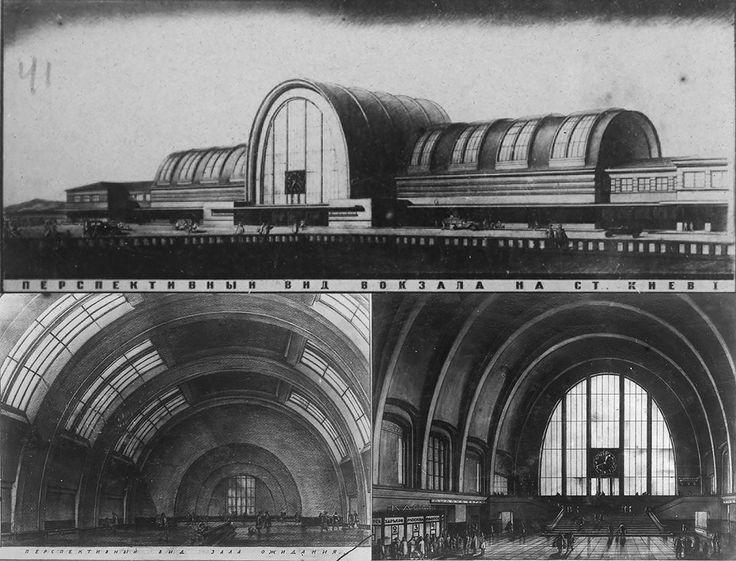 Владимир Щуко тоже старается не отставать от тенденций и подает очень футуристичный проект. Огромные окна, большие пространства и форма свода выглядят современно и сегодня. Второй тур конкурса, 1927 год