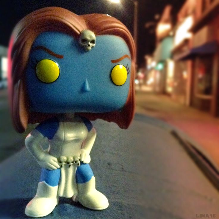 Mystique Funko Pop. Check our daily deal on Instagram! #ToyTasticDailyDeal