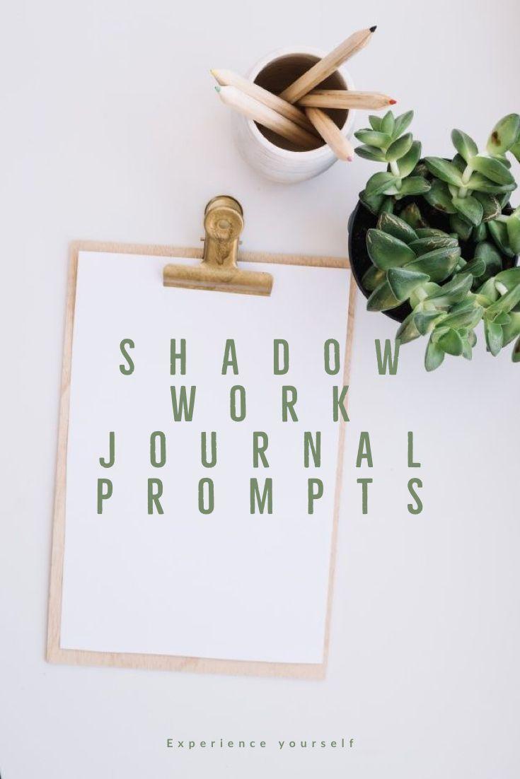 Shadow Work Journal Prompts Shadow Work Work Journal Shadow