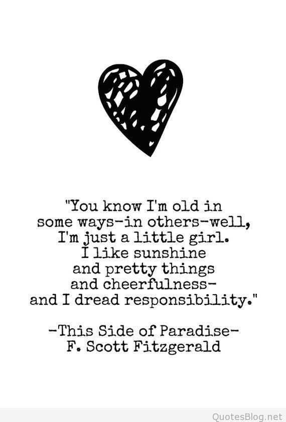 This Side of Paradise Quote