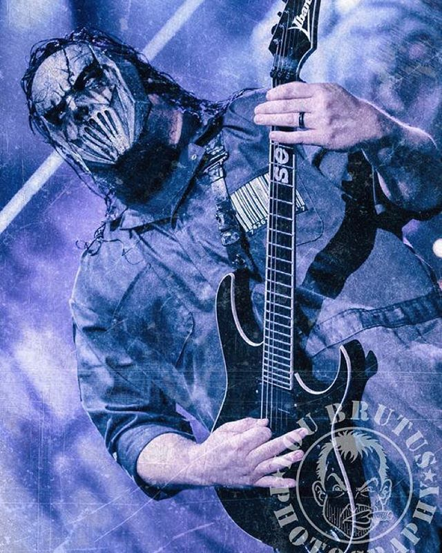 HAPPY BDAY MICK! Happy Birthday to brother Mick Thomson of @Slipknot. Photos © by @LouBrutus. #Slipknot #MickThomson