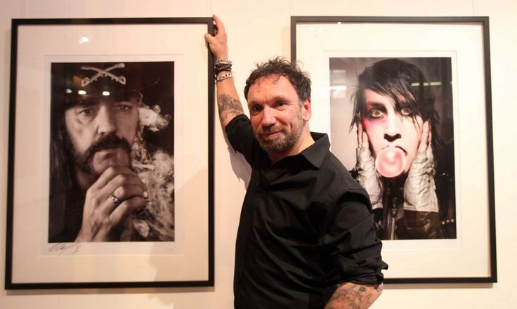 Rock photography exhibition at Biscuit factory. All pics work of Mick Hutson