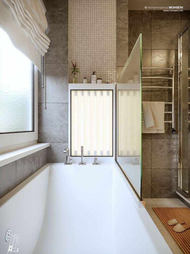 Making of Nuremberg Bathroom - 3D Architectural Visualization & Rendering Blog
