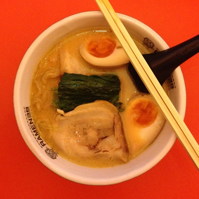 #tonkotsuchashumen with #tamago at #ramen38sanpachi #jakarta #indonesia #japanesefood #ramen