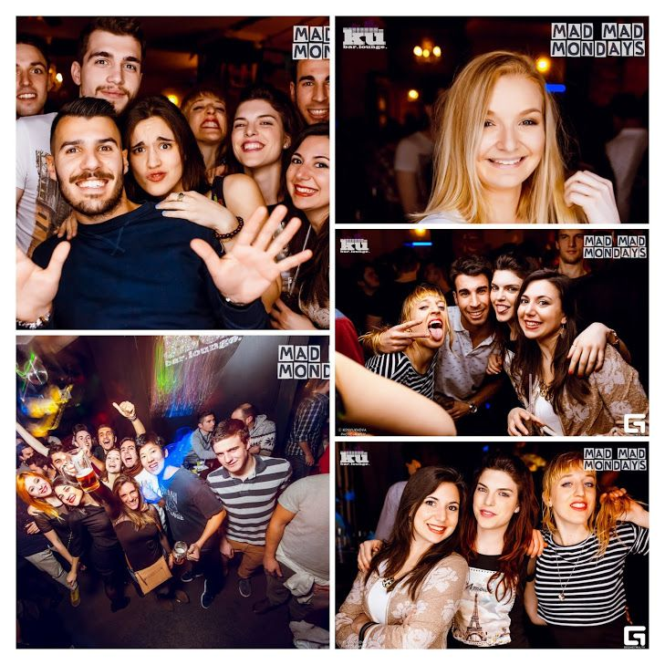 highlights from #madmadmonday #captainmorgan edition 21/3 at #kubarlounge - every monday- 2 hours open bar for girls