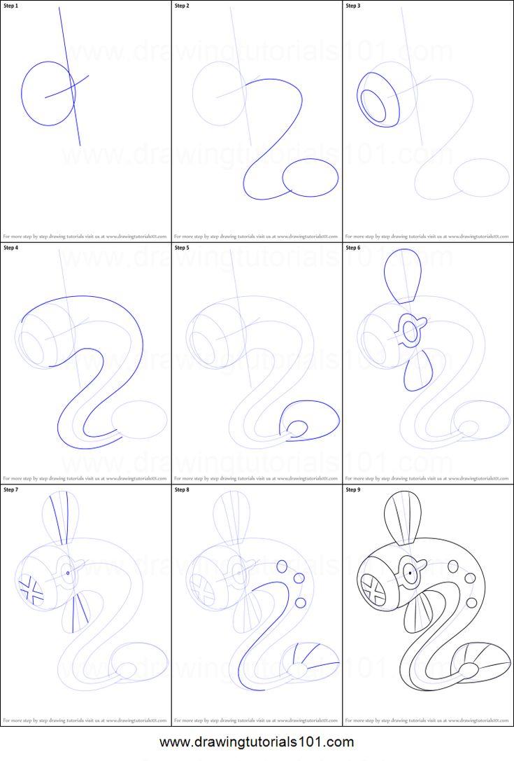 Eelektrik Drawing Sheet Drawings Easy Pokemon Drawings