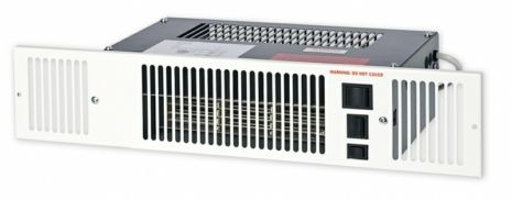 Myson Kickspace 500E Electric Plinth Heater - White Grille
