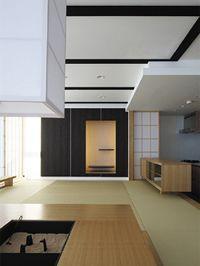 千里中央の家 マンションのデザインリフォーム リビング