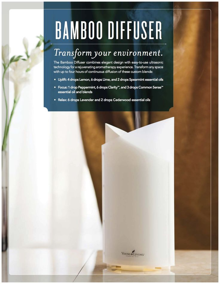 Starter Kits Diffusers Bamboo And Young Living
