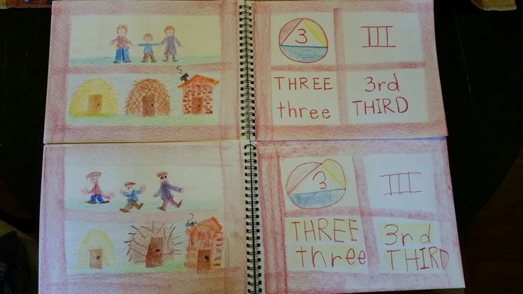 Number 3, Mom and Dad and Me, and the Houses of the 3 Little Pigs