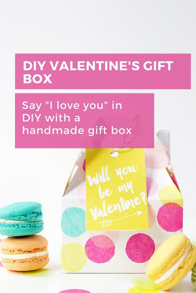 Nothing says 'I love you' more than a handmade gift, so go one better and put a handmade gift in a gift box that you can DIY in no time and show them how much you care! #diy #wrapping #giftbox #valentines