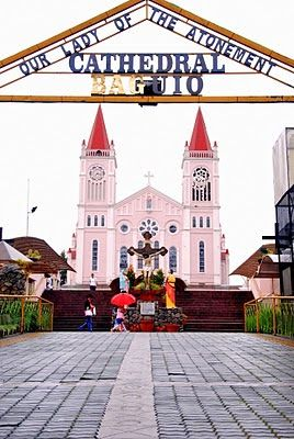 Baguio Cathedral or  Our Lady of the Atonement Cathedral