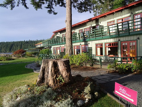 #TravelTuesday Get away to Quadra Island for Tastes of April Point 2012 (contest) #TAPHB604