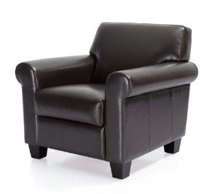 Manchester Leather Classic Club Chair