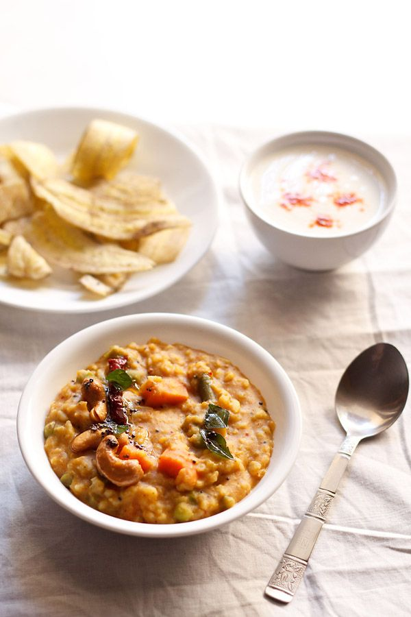 bisi bele bath recipe - a delicious complete meal of rice, lentils and vegetables popular from the karnataka cuisine. step by step detailed recipe.
