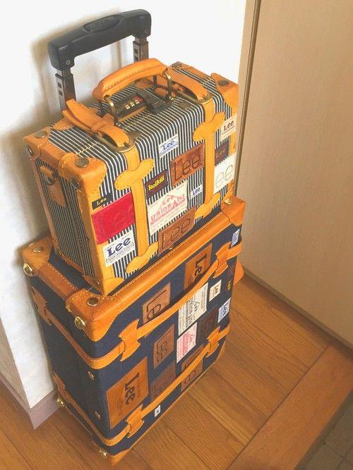 ヒッコリートランク(Keikiii) <おしゃれな旅行カバン・旅行バッグの参考一覧>