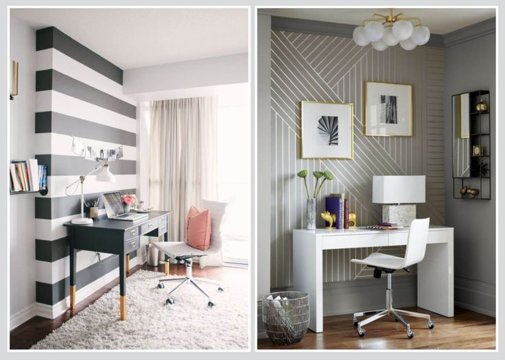 Smaller spaces for a home office can be 'punched out' and cosy