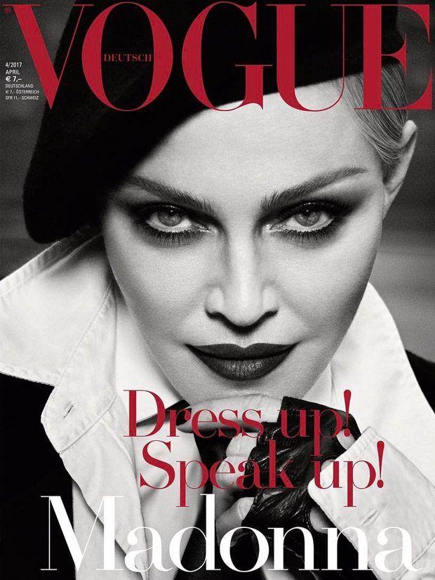Vogue Germany, April 2017: Madonna, by Luigi & Iango, #2