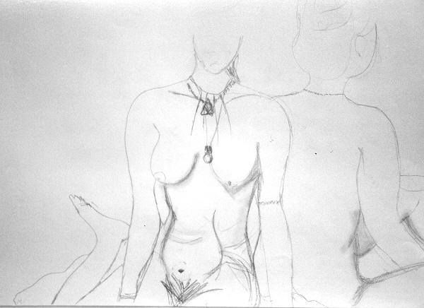 Nudes Necklace