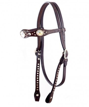 Headstall with Crystal Accents